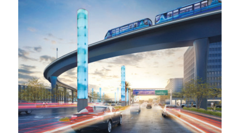 Construction on LAX People Mover Train on Track for 2023 Opening