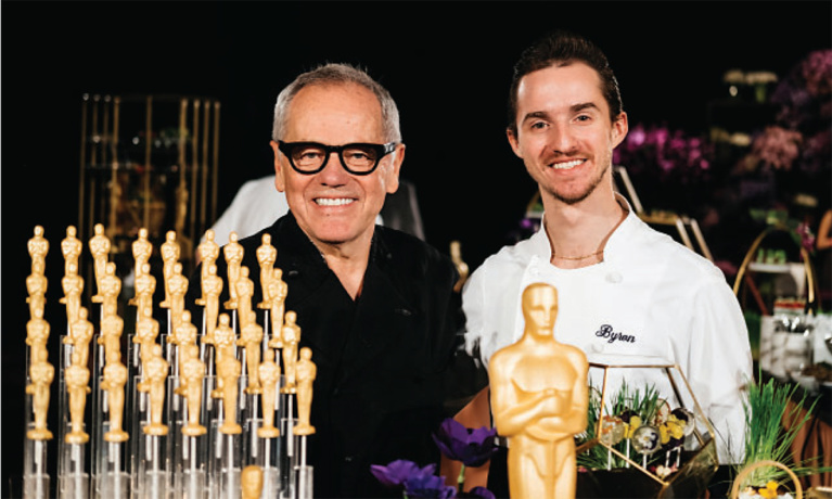 Wolfgang Puck Gears up for Hollywood's Biggest Night