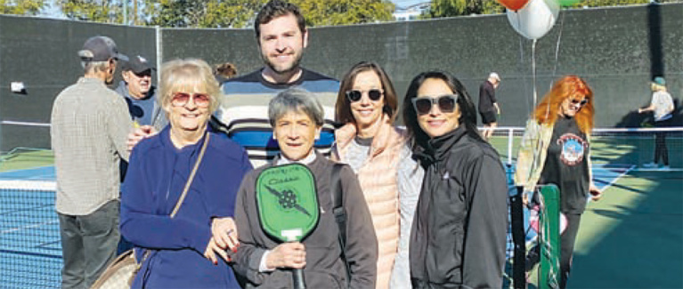 Pickleball Comes to Beverly Hills