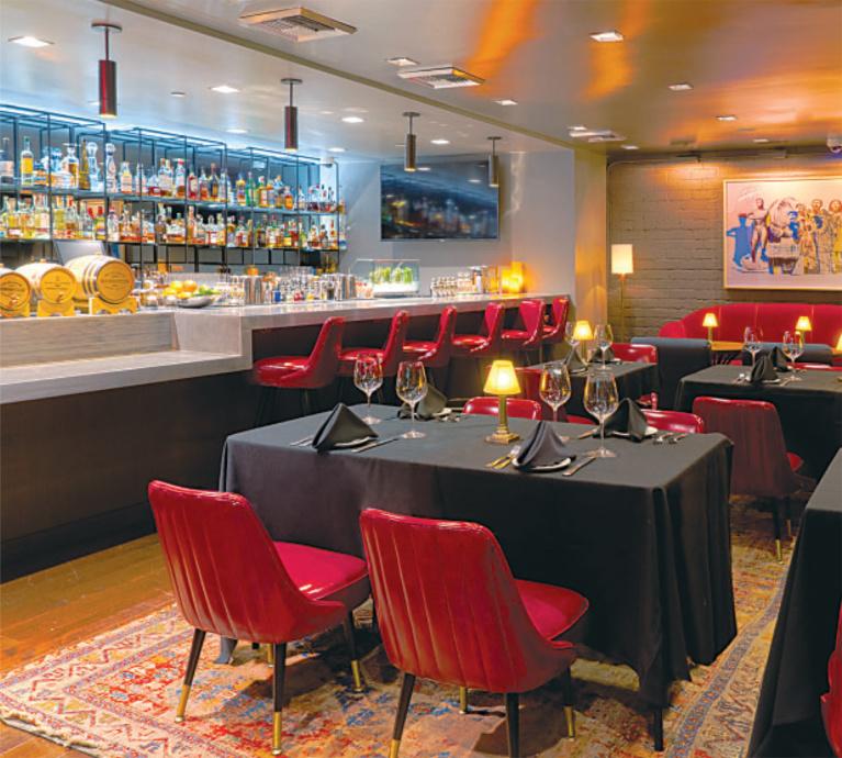 Exclusive: Nerano Opens BG Speakeasy Restaurant Upstairs