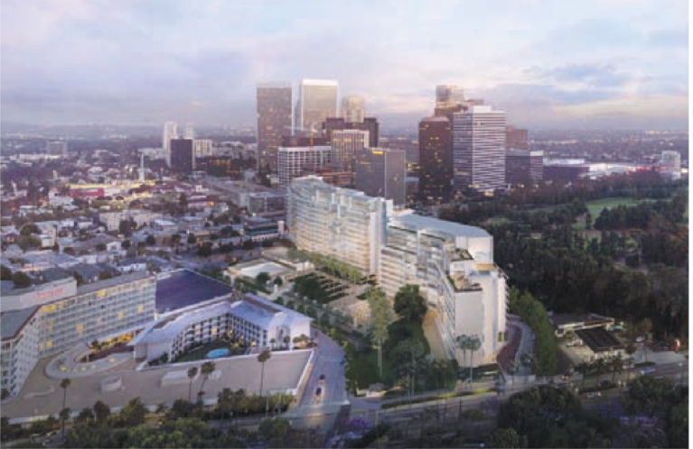 Friar's Club Project Advances, United Beverly Hilton/One Beverly Hills Project to Return