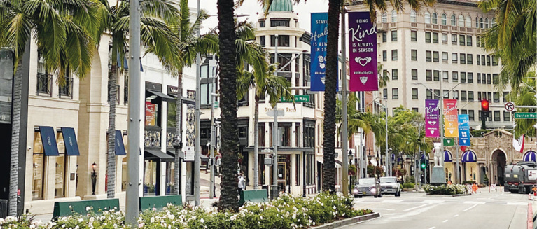 Beverly Hills Retailers Prepare to Reopen for Business