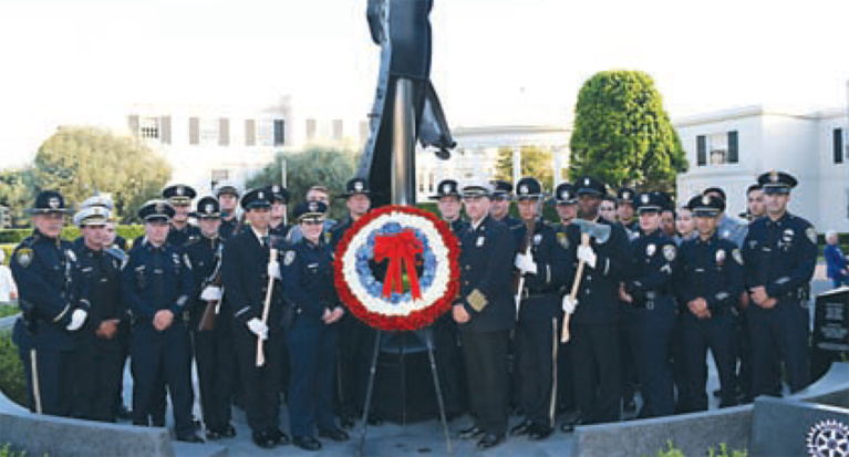 Community Joins Together to Commemorate 9/11 Anniversary With Moving Ceremony At Fire Station