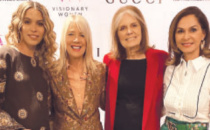 Feminist Icon Gloria Steinem Leads Visionary Women Salon
