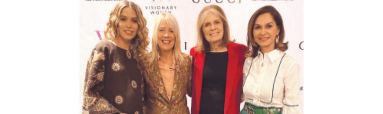 Feminist Icon Gloria Steinem Leads Visionary Women Salon