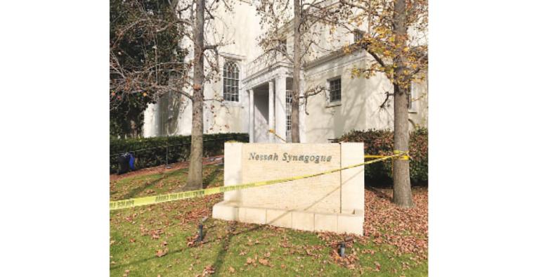 Arrest Made in Nessah Synagogue Vandalism Case