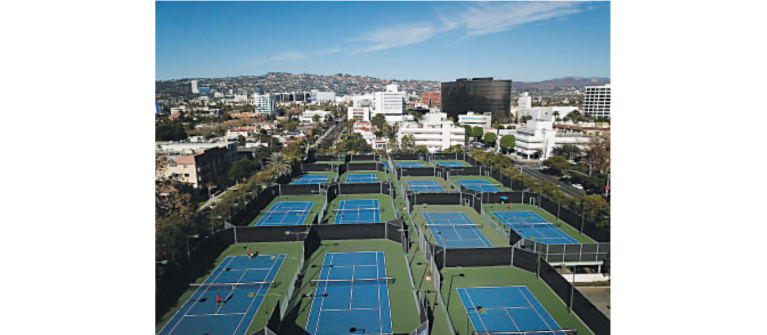 Tennis Returns to Beverly Hills