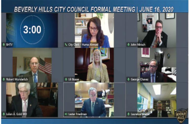 Despite Misgivings, Beverly Hills City Council Ratifies Emergency Ordinance