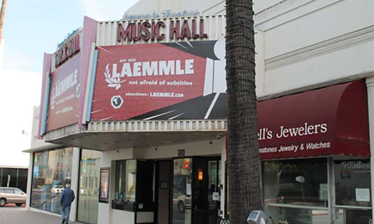 Laemmle Music Hall in Beverly Hills To Soon Close