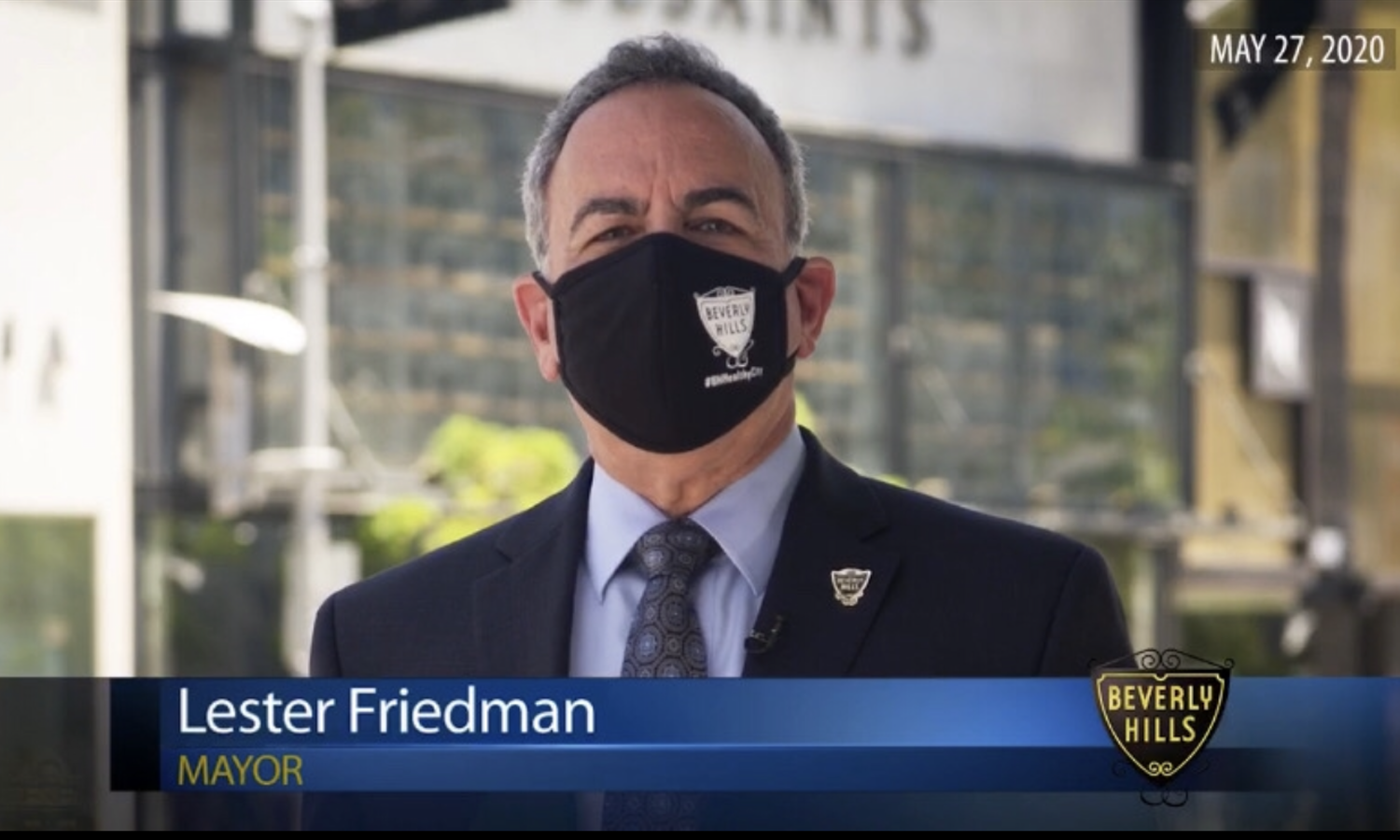 Beverly Hills Prepares to Issue Fines to Achieve Face Covering Compliance