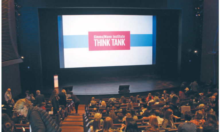 """Simms/Mann Institute """"Think Tank"""" Talks Health and Wellness at the Wallis in Beverly Hills"""