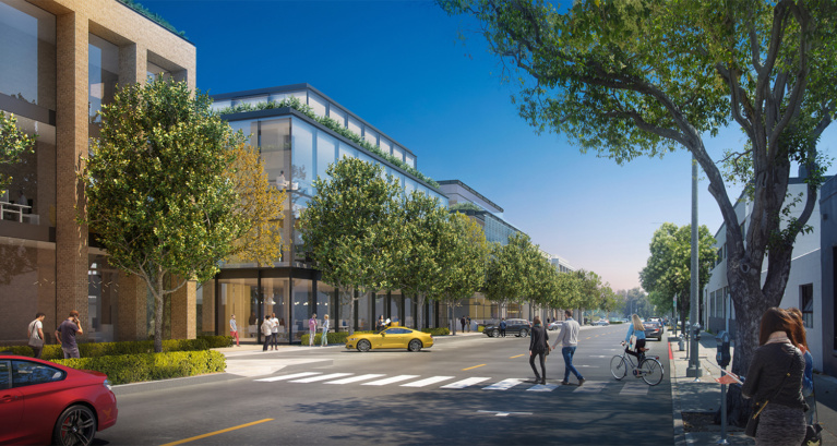 Exclusive First Look at Plans for  Beverly Hills Creative Offices