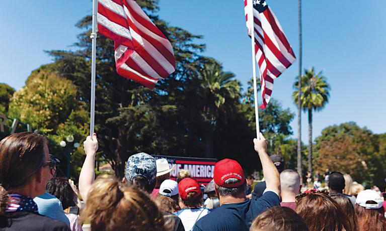 #WalkAway Rally Draws  Hundreds to Beverly Hills
