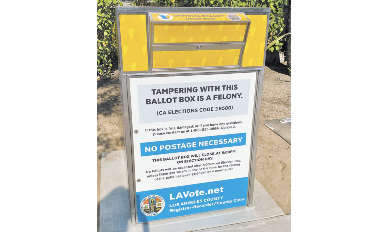 Voting Begins in Beverly Hills