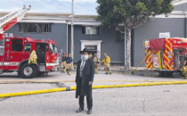 Fire Damages JEM Community Center in Beverly Hills