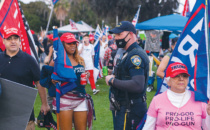 BHPD Chief Addresses Mask  Enforcement at Rallies