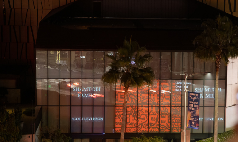 Visions in Light: Windows on The Wallis Open Now