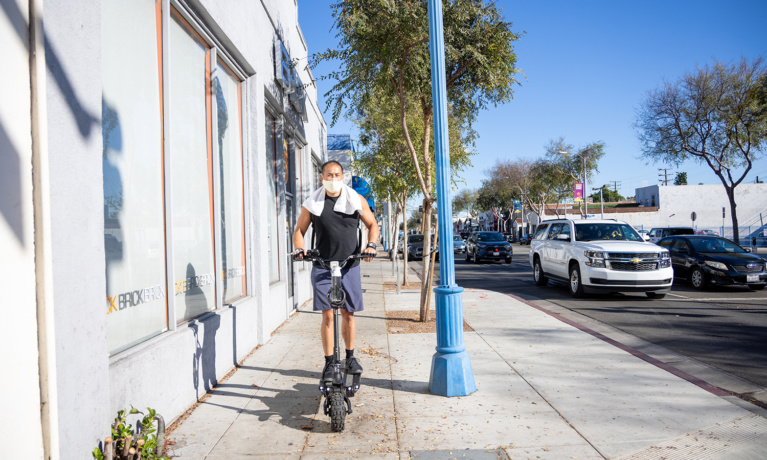 WeHo Approves Scooters and E-Bikes