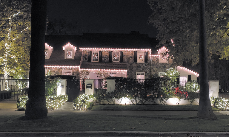 Holiday Lights Shining Brightly in Beverly Hills and Beyond