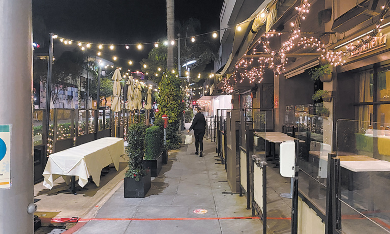 Beverly Hills Demands Action Against County Dining Ban