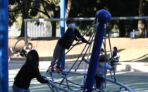 Playgrounds Reopen in  Beverly Hills