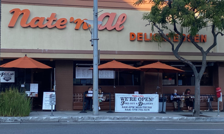 Nate 'n Al's Temporarily Closes Due to COVID