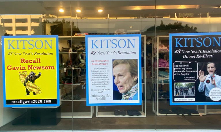 Local Businesses Join Effort to Recall Governor Newsom