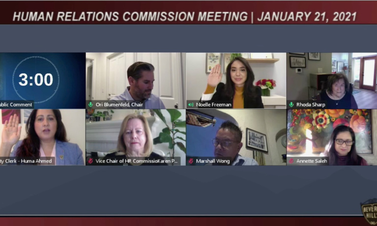 Human Relations Commission Reviews Hate Crimes Report