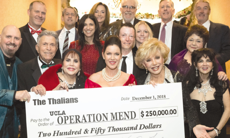 Thalians raise 250000 for uclas operation mend