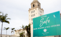 Beverly Hills Relaxes Mask Ordinance