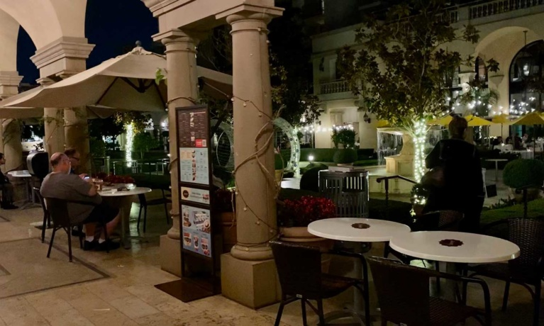 The Maybourne Expands Dining into Beverly Canon Gardens