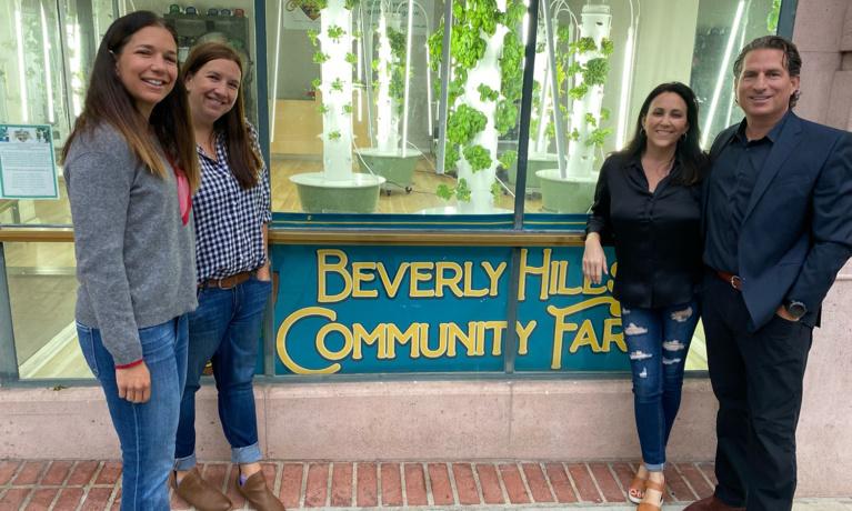 Beverly Hills Community Farm Establishes Roots