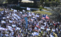 Rally in Beverly Gardens Park sends clear message of support for Israel