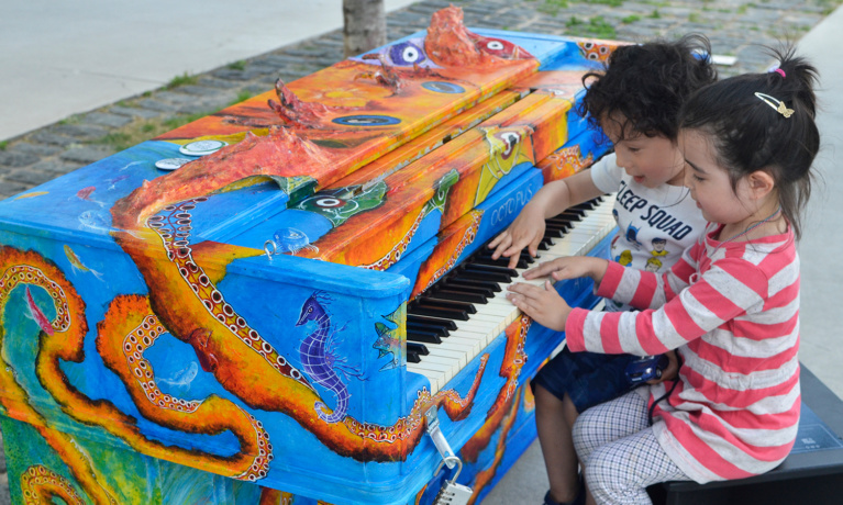 """Open Call for Artists to Design """"Sing for Hope"""" Pianos"""