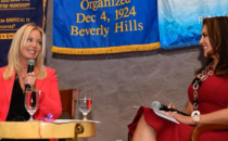Jeanie Buss Honored at Rotary Club of Beverly Hills