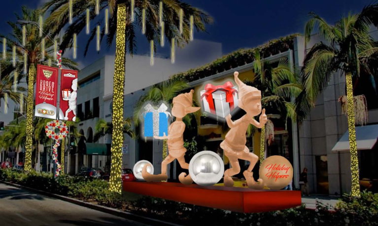 First Glance at Rodeo Drive  Holiday Décor
