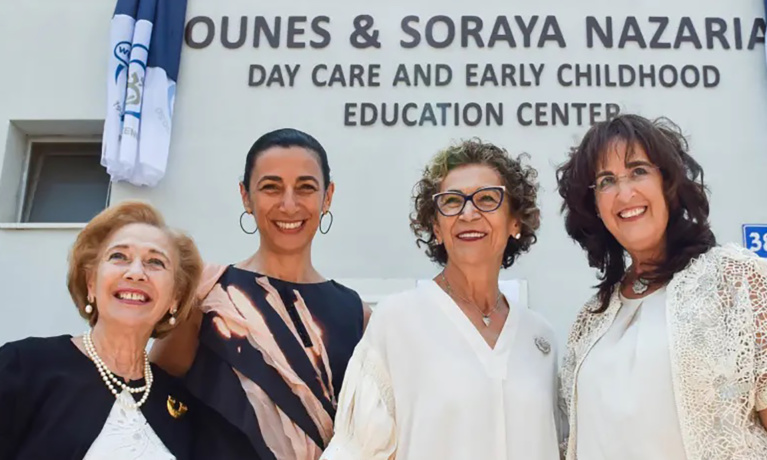 LA Philanthropists Open Tel Aviv Day Care Center