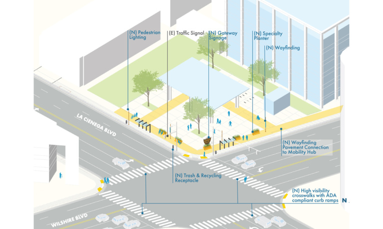 Connect  Beverly Hills Streetscape Plan Moves Forward