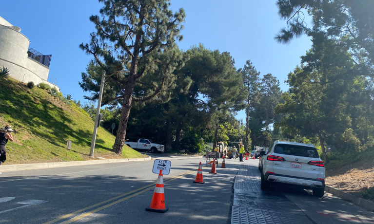 Trousdale  Construction Could End This Month