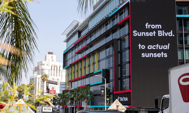 Electronic Billboard Proposal Worries Residents Near Sunset Strip
