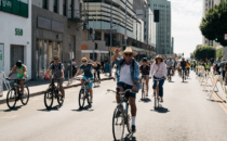 Council Members Support CicLAvia Open Streets Event