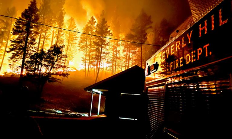 BHFD Fighting Dixie Fire