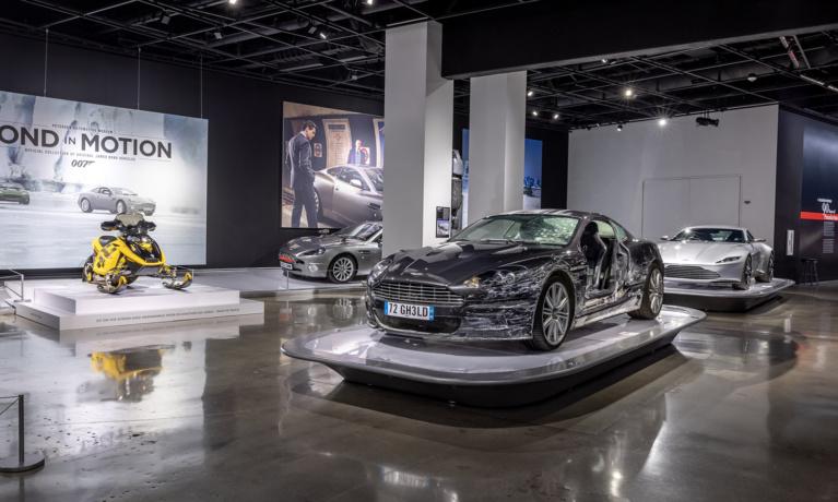 Petersen Automotive Museum Showcasing James Bond Vehicles